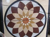 HM-007, Waterjet Medallion tile