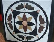 HM-010, Waterjet Medallion tile