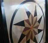 HM-013, Waterjet Medallion tile