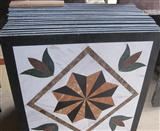 HM-014, Waterjet Medallion tile