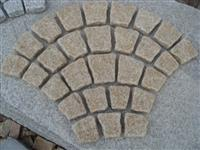 yellow rolling sector cubic stone