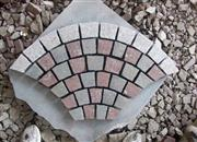 mixed color sector stone