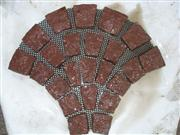 red sector mesh cubic stone