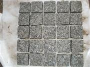 grey mesh Cubic stone square