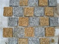 mixed cubic stone square