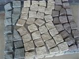 tumbling cubic stone floor paver