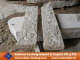 Rough picked palisade stone