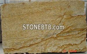 Juparana Dourado Granite Large Slab