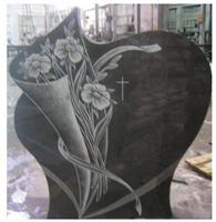 Carving Granite Tombstone Monument Design
