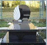 Granite Black Tombstone 028