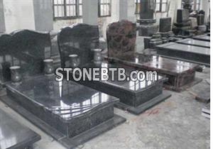 Granite Tombstone Poland Style JH-61