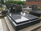 Black Color Tombstone