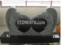 Double Angel Headstone