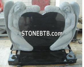 Double Angel Tombstone