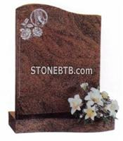 Multicolor Red Headstone