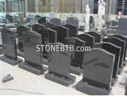 Black Granite Tombstone Headstone mounment
