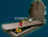 Multicolor Red  Poland Gravstone, Headstone, Tombstone
