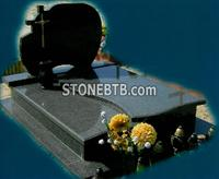G654 Grey ColorPoland Gravstone, Headstone, Tombstone