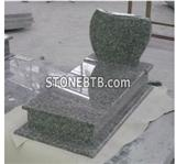 Black Granite Headstone and Gravestone Stone