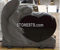 Heart Monument  Headstone  and Tombstone