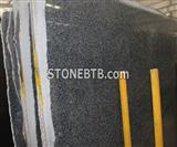 Black Color G654 Chinese Granite Slab