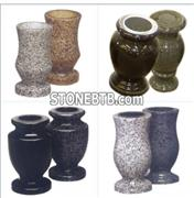 Tombstone and Headstone Flower Vase