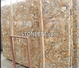 Gold Chocolate Granite Slab