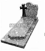 Spary White Tombstone and Headstone