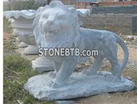 Western Style Lion Anomal Sculpture