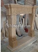 Sculpture Marble  Fireplace