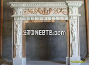 Hot Design Marble  Fireplace