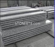 Chinese Wave White Granite Stairs