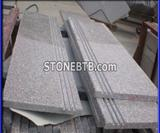 G635 Granite Stairs and Treads