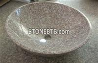 Pink Color  Granite  Basin