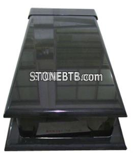 Shanxi Black Gravestone and Tombstone