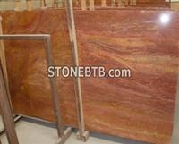 Red Color   Marble  Slab