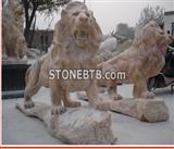 European Style Double Lion Sculpture