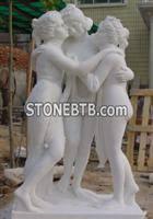 Western Style Girls Person Statue