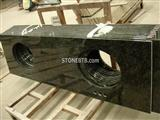 Hot Sales Green Color   Granite Countertops And Vanitytop