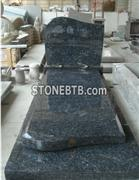 Blue Pearl  Tombstone and Headstone