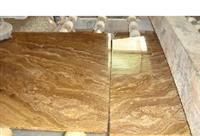 Yellow Wood Vein Marble Tile and Slab