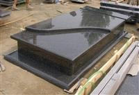 BDQ granite tombstone
