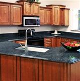 butterfly blue countertop