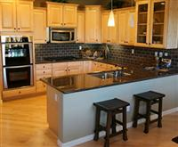 Black Kitchen Granite Counters
