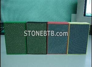 Electroplated handpads