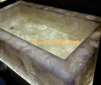 Agate sunshine stone ---tub