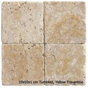 Small Sizes Tumbled Travertine Tiles