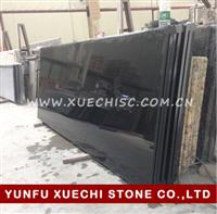 China absolute black granite black granite kitchen countertop