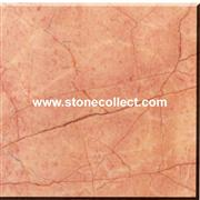 Beige with red marble tiles and slabs