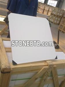 Crystallized stone tiles